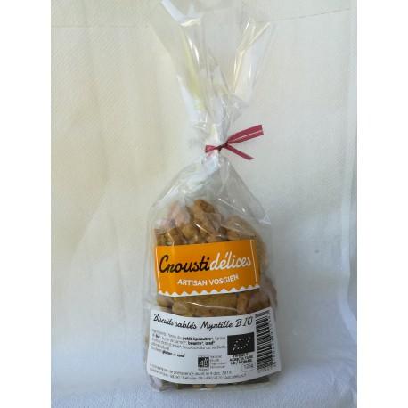 Biscuits sablés Myrtille BIO