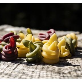 Trio coloré de trottole - Pâtes sèches
