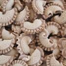 Crêtes de coq aux cèpes - Pâtes sèches