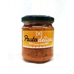 Pesto rouge à la tomate et au basilic
