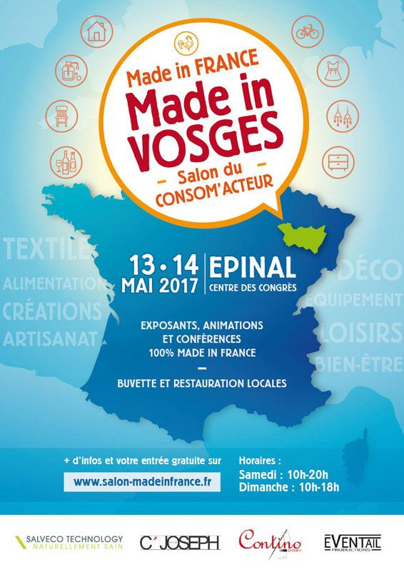 Pastadélices au Salon Made in Vosges à Epinal